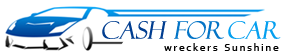 Cash for Car Wreckers Sunshine Logo